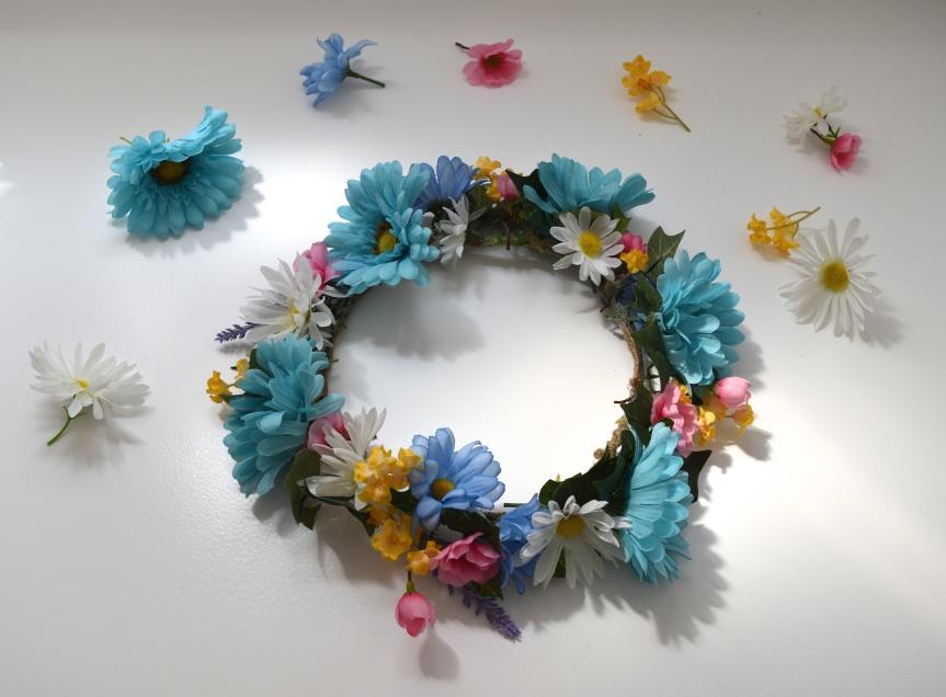 DIY Flower Crown!