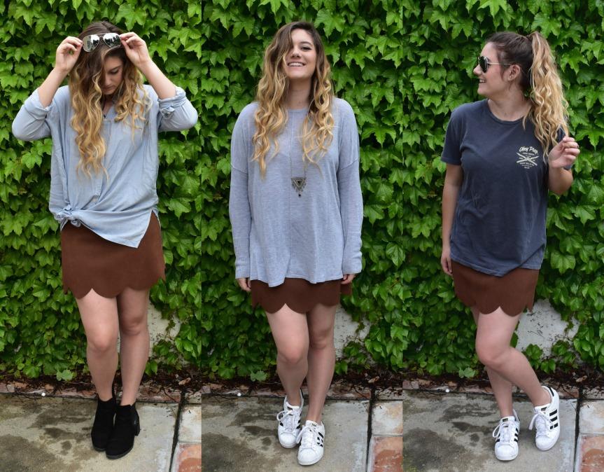 How I Style a ThriftedSkirt!