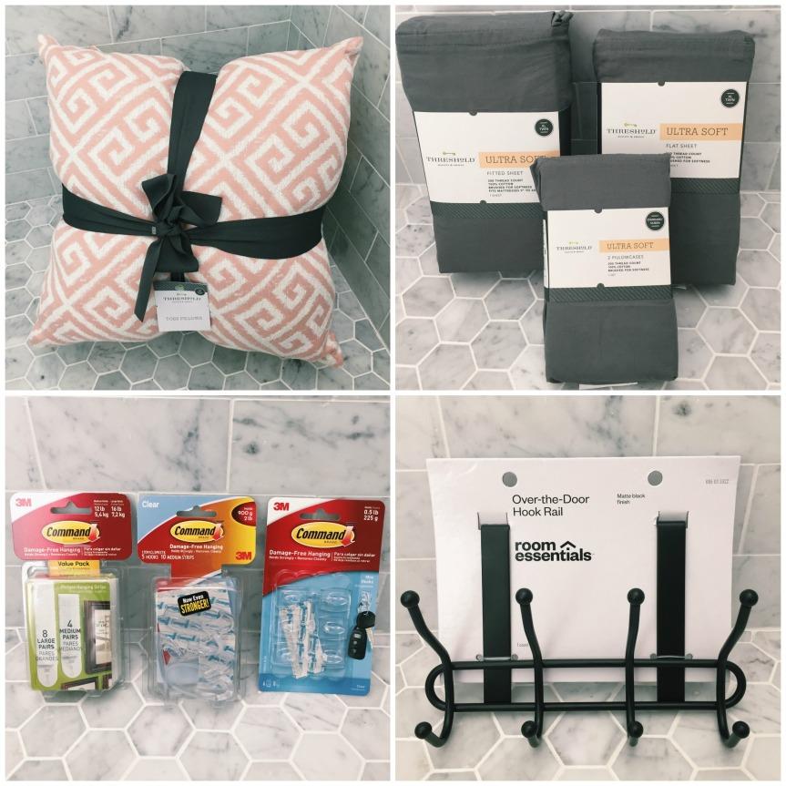 Dorm Haul: Target Decorations andNecessities!