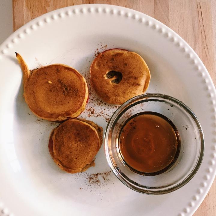 Pumpkin Pancake Apple RingsRecipe!